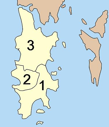 Районы Пхукета
